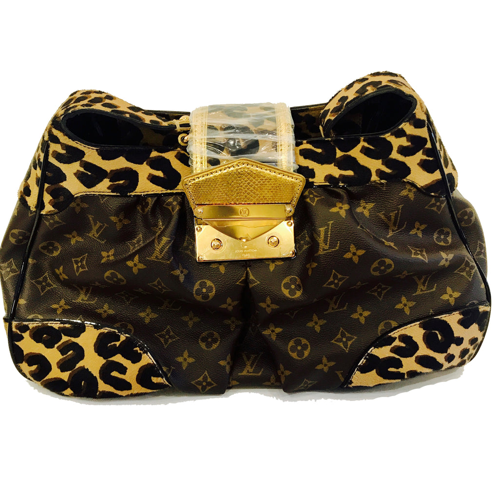 SOLD - Louis Vuitton Signature Collectors Stephen Sprouse Polly GM Monogram
