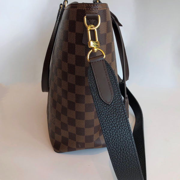 SOLD Louis Vuitton Damier Ebene Jersey Bag