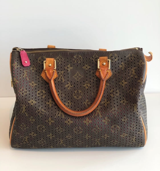 Louis Vuitton Perforated Monogram Speedy 30