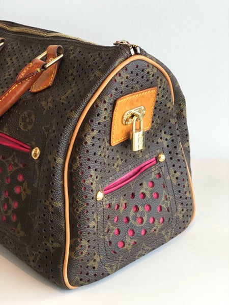 SOLD Louis Vuitton Perforated Monogram Speedy 30