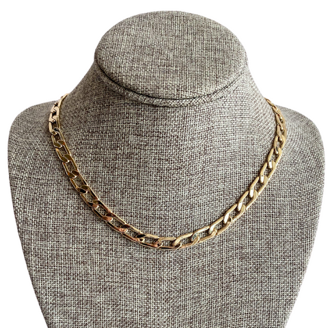 Farrah B Chain Link Necklace