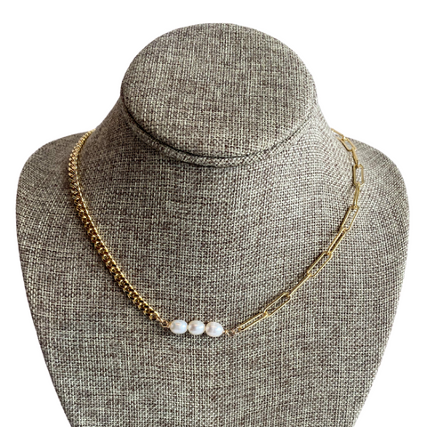 Farrah B Pearl Necklace