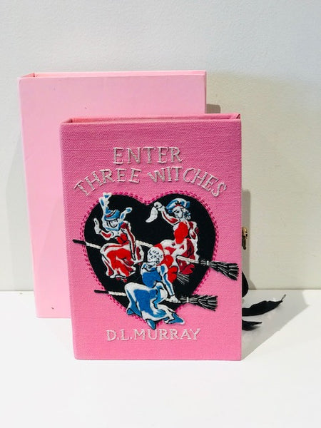 Olympia Le-Tan Three Witches Book Clutch Bag