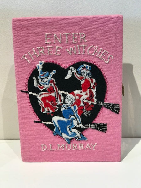 SOLD Olympia Le-Tan Three Witches book clutch