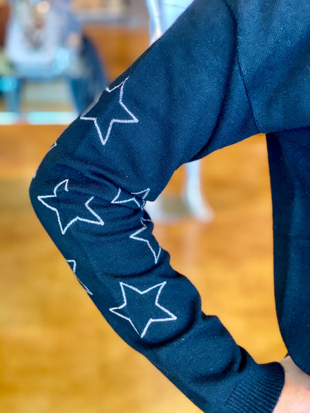 sleeve detail stars