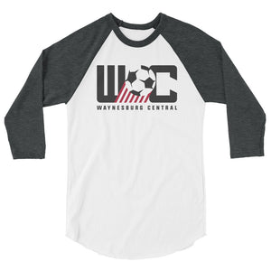 WC Soccer 19 3/4 sleeve raglan shirt