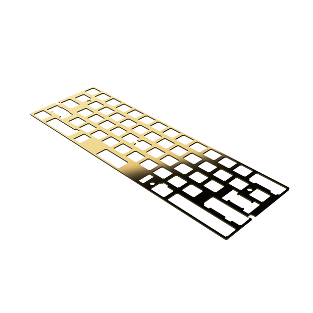 Mirror Polished Brass Mounting Plate