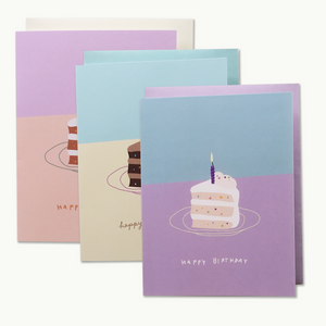 Birthday Slice Card