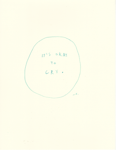 It's Okay To Cry Original