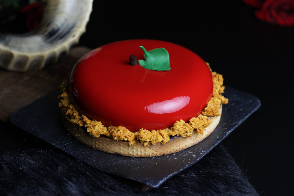 The Choco Apple Tart