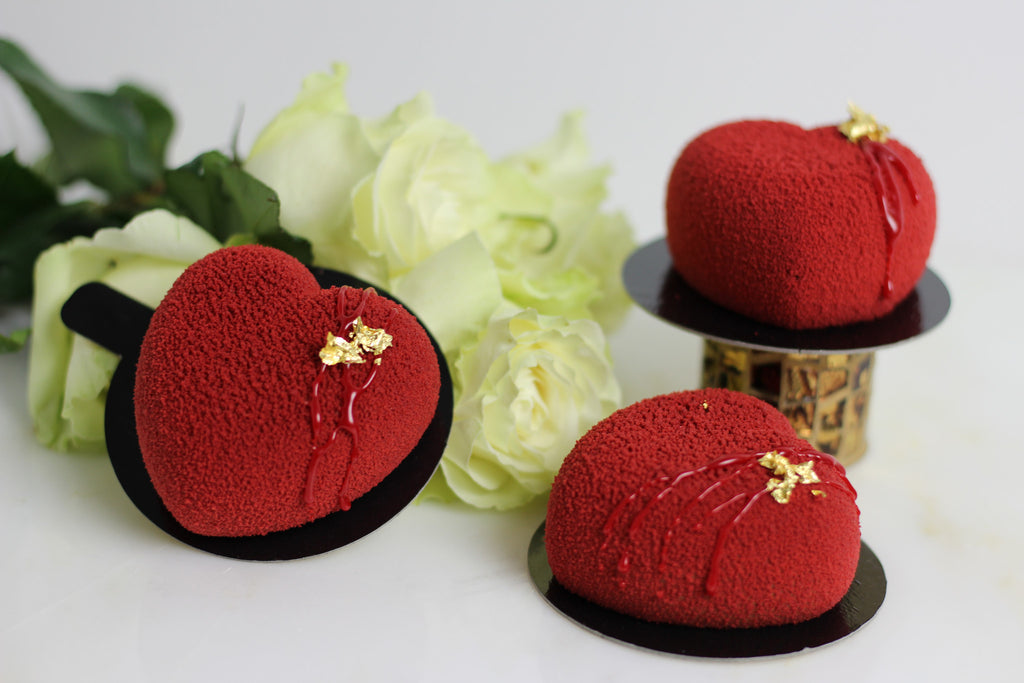 Heart (Furry) Mousse Dessert - 4