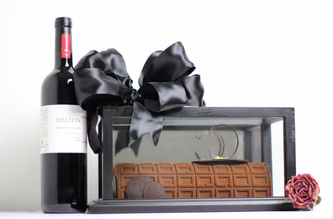 The Choco Log - wine not included
