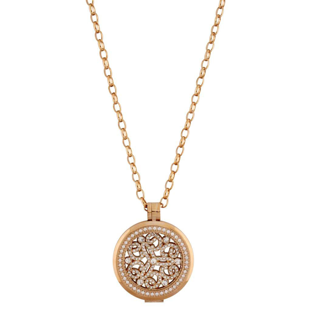 Rose Gold 32 Necklace Locket Absolute Jewellery Canada