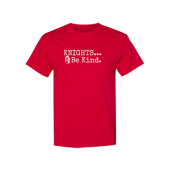 Knights Be Kind Tee - Red
