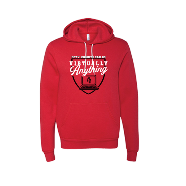Virtually Anything Hoodie - Red