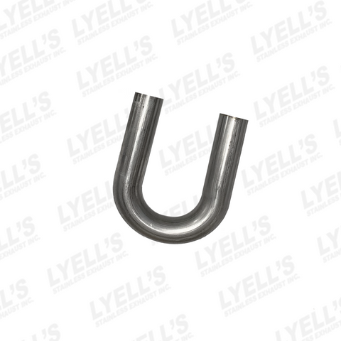 "2¼"" 180° Mandrel Bend: 304 Stainless Steel - Lyell's Stainless Exhaust Inc., Mandrel Bending Ontario"
