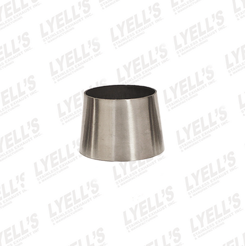 "2½"" to 3"" x 2"" long - Concentric Tube Reducers - Lyell's Stainless Exhaust Inc., Mandrel Bending Ontario"
