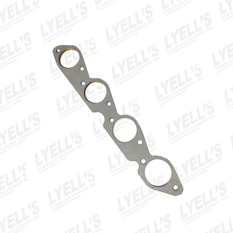 "CHEVY 454 HEADER FLANGE - 2¼"" PRIMARIES - 304 STAINLESS"