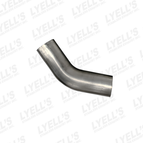 "3½"" 45° Mandrel Bend: 304 Stainless Steel - Lyell's Stainless Exhaust Inc., Mandrel Bending Ontario"