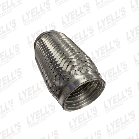 "2½"" Flex Pipe - 8"" Length - Lyell's Stainless Exhaust Inc., Mandrel Bending Ontario"
