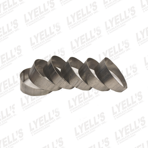 "2½"" 90° Pie Cuts - 304 Stainless - Lyell's Stainless Exhaust Inc., Mandrel Bending Ontario"