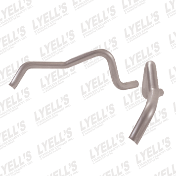"2½"" 409 Stainless Steel '68-'74 Chevrolet Nova Tailpipes - Lyell's Stainless Exhaust Inc., Mandrel Bending Ontario"