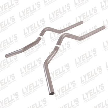 "2½"" 409 Stainless Steel '73-'87 GM C&K Series Truck Tailpipes - Lyell's Stainless Exhaust Inc., Mandrel Bending Ontario"