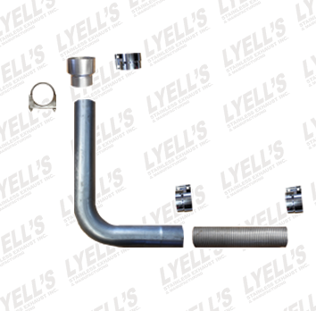 Single Universal Stack Kit - Lyell's Stainless Exhaust Inc., Mandrel Bending Ontario
