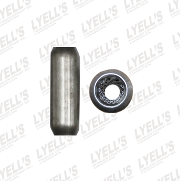 "1¾"" Blank Aluminized - 10"" Length - Lyell's Stainless Exhaust Inc., Mandrel Bending Ontario"