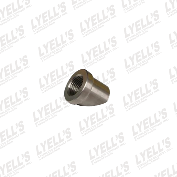 Angled O2 Sensor Bung - Stainless Steel - Lyell's Stainless Exhaust Inc., Mandrel Bending Ontario