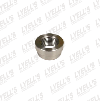 Straight O2 Sensor Bung - Stainless Steel