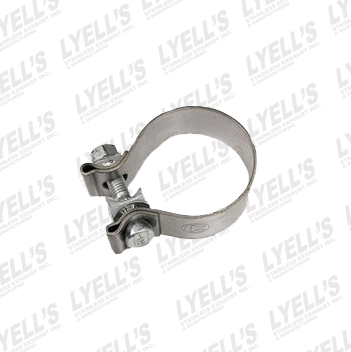 "2¼"" Accuseal Clamp - Stainless Steel - Lyell's Stainless Exhaust Inc., Mandrel Bending Ontario"