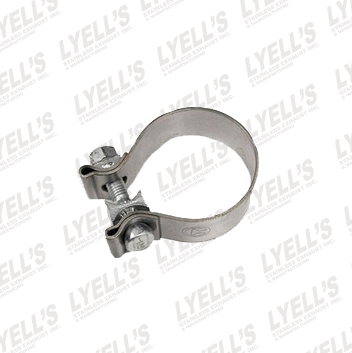 "2½"" Accuseal Clamp - Stainless Steel - Lyell's Stainless Exhaust Inc., Mandrel Bending Ontario"