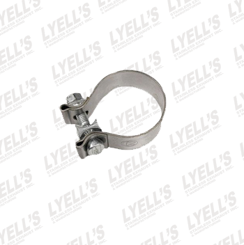 "2¾"" Accuseal Clamp - Stainless Steel - Lyell's Stainless Exhaust Inc., Mandrel Bending Ontario"