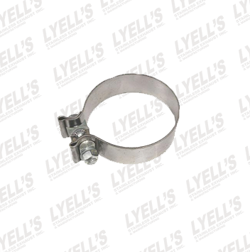 "3"" Accuseal Clamp - Stainless Steel - Lyell's Stainless Exhaust Inc., Mandrel Bending Ontario"