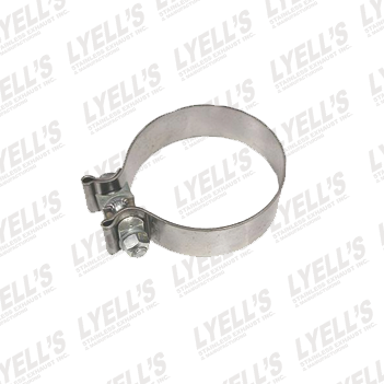 "3½"" Accuseal Clamp - Stainless Steel - Lyell's Stainless Exhaust Inc., Mandrel Bending Ontario"