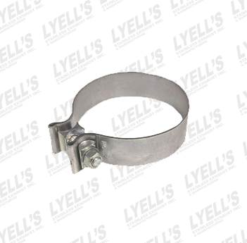 "4"" Accuseal Clamp - Stainless Steel - Lyell's Stainless Exhaust Inc., Mandrel Bending Ontario"