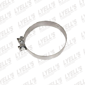 "4½"" Accuseal Clamp - Stainless Steel - Lyell's Stainless Exhaust Inc., Mandrel Bending Ontario"