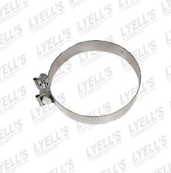 "5"" Accuseal Clamp - 409 Stainless Steel - Lyell's Stainless Exhaust Inc., Mandrel Bending Ontario"