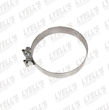 "6"" Accuseal Clamp - Stainless Steel - Lyell's Stainless Exhaust Inc., Mandrel Bending Ontario"
