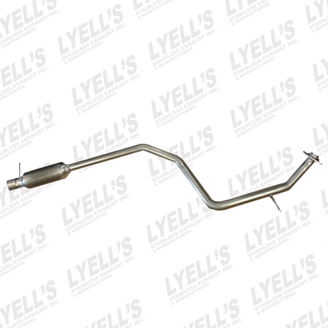 06'-'10 Mazda 5 2.3L Intermediate Resonator Pipe - Lyell's Stainless Exhaust Inc., Mandrel Bending Ontario