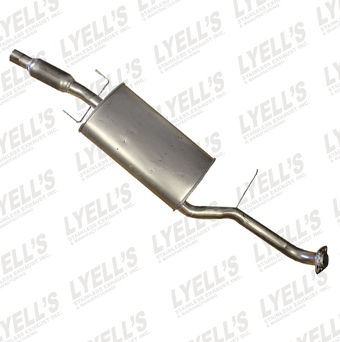 Ford Escape Direct Fit Muffler Assembly - budget-performance