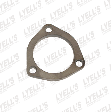 "2½"" Mild Steel 3 Hole Flange - Lyell's Stainless Exhaust Inc., Mandrel Bending Ontario"