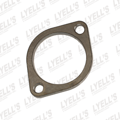 "3"" Mild Steel 2 Hole Flange - Lyell's Stainless Exhaust Inc., Mandrel Bending Ontario"