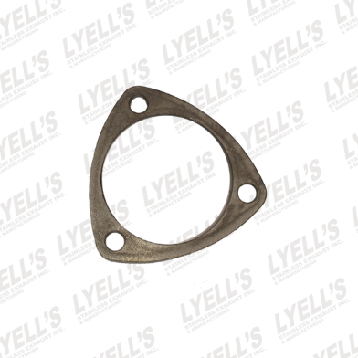 "3"" Mild Steel 3 Hole Flange - Lyell's Stainless Exhaust Inc., Mandrel Bending Ontario"