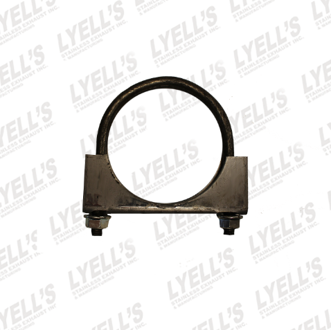 "2¼"" U Bolt Muffler Clamp - Mild Steel - Lyell's Stainless Exhaust Inc., Mandrel Bending Ontario"