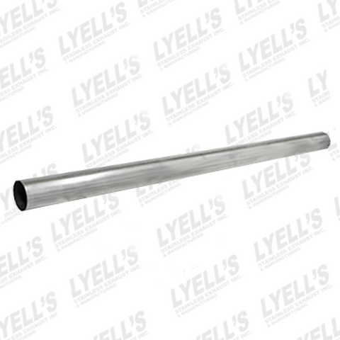 "3""  Aluminized 16GA Straight Tubing - Lyell's Stainless Exhaust Inc., Mandrel Bending Ontario"