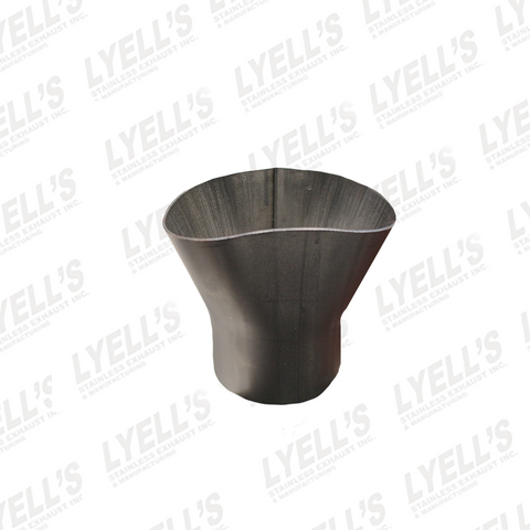 "2¼"" Y Adapter - 409 Stainless Steel - Lyell's Stainless Exhaust Inc., Mandrel Bending Ontario"