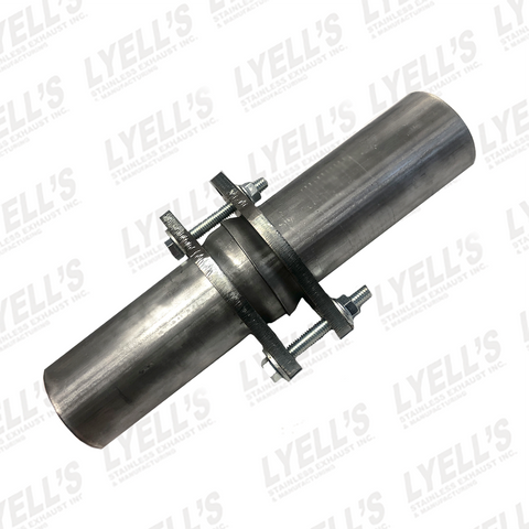 "3"" Ball and Socket - 409 Stainless Steel - Lyell's Stainless Exhaust Inc., Mandrel Bending Ontario"
