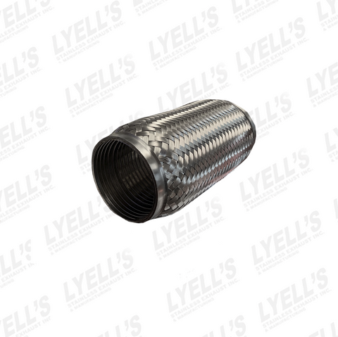 "3"" Flex Pipe - 8"" Length - Lyell's Stainless Exhaust Inc., Mandrel Bending Ontario"